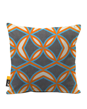 Planet Zebes Faux Suede Throw Pillow