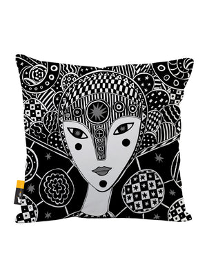 Mokosha Faux Suede Throw Pillow