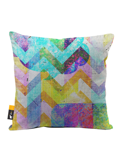 Avant Garde Luxe Suede Throw Pillow