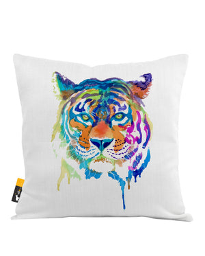 Tiger Enchantment Throw Pillow