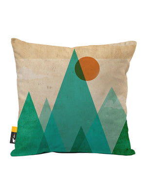 Try Angle Faux Suede Throw Pillow
