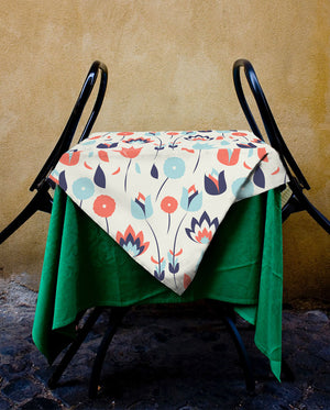 Vintage Cocktail Tablecloth