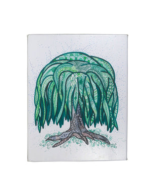Weeping Willow Gallery Art Canvas