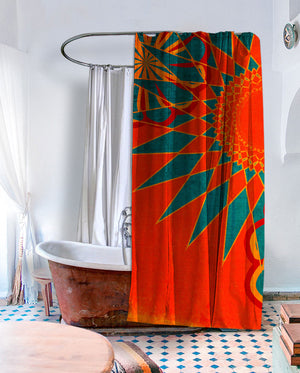 West Indies Shower Curtain