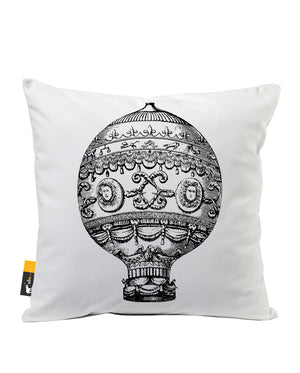 World's Fair Faux Suede Throw Pillow
