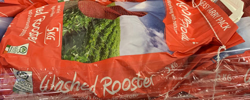 POTATO WASHED ROOSTER BAG (x5kg) - Jackie Leonards
