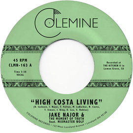 High Costa Living / Grab A Soda - Jake Najor feat. Mixmaster Wolf (vinyl negro)