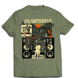 "Playera Plantasia ""Bill Connors"" talla L"