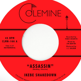 Ikebe Shakedown 'Assassin / View From Above' 7""