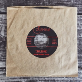 Black Market Brass - Into the thick / War 7""