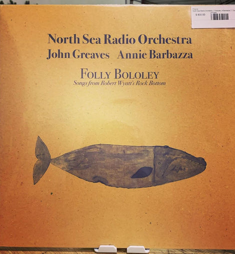 North Sea Radio Orchestra - John Greaves Annie Barbazza (Limited Edition, Numbered, Dark Blue Coloured CD, Special Edition, Golden )