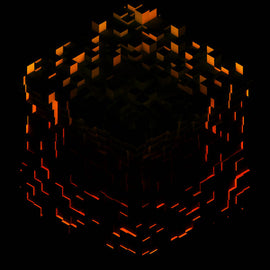 Minecraft Volume Beta - C418. LTD 2xLP (Red Orange & Yellow Splatter)