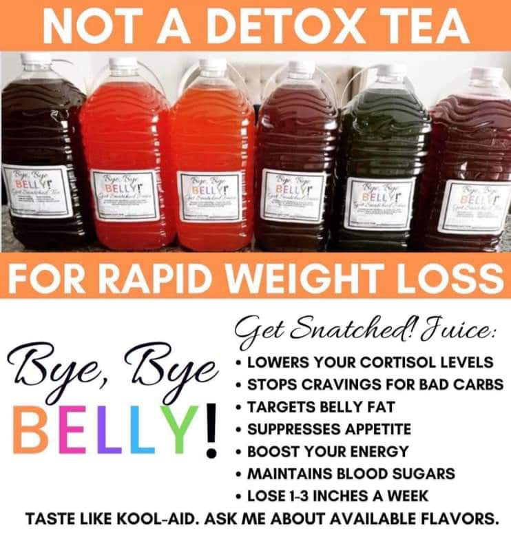 Bye Bye Belly Juice