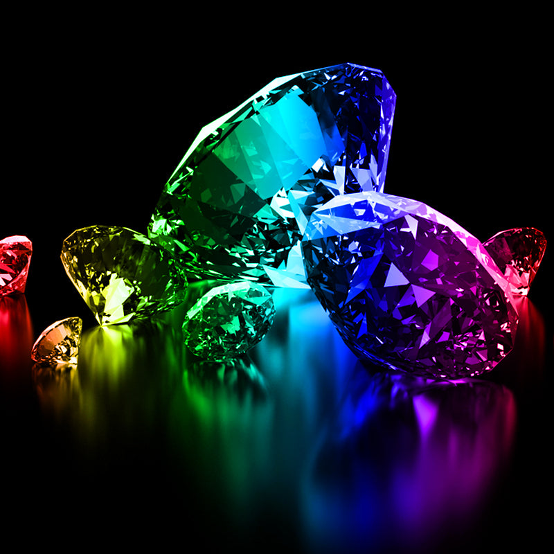 Colorful Diamonds Package    $100