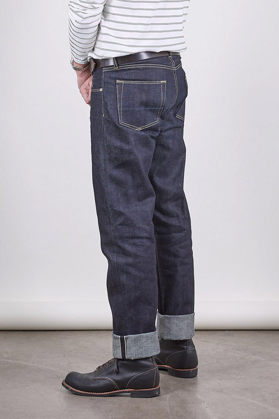 NW1 Relaxed Straight Indigo 14oz Japanese Raw Selvedge Mens