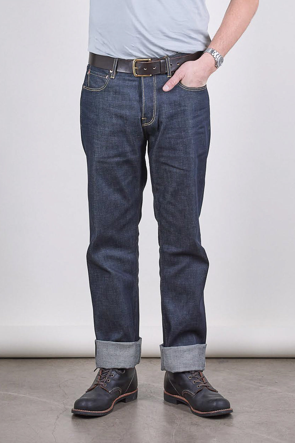 NW1 Relaxed Straight Indigo 14oz Turkish Raw Selvedge Mens