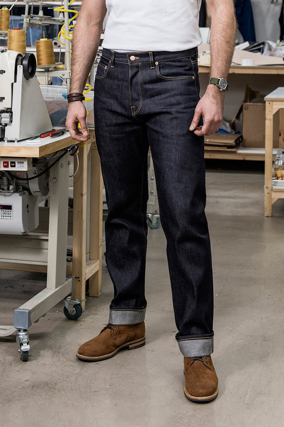 NW1 Relaxed Straight Indigo 18oz Japanese Raw Selvedge Mens