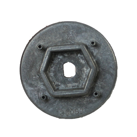 Sanitaire 26058A Small Hex End Cap (VGI)