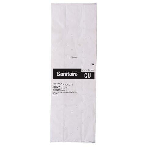 Sanitaire 2772 Type CU Premium Synthetic Bag, 5pk