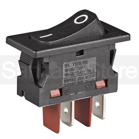 Sanitaire 28073A On/Off Rocker Switch