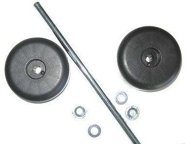 Sanitaire 60161 Rear Wheel & Axle Assembly