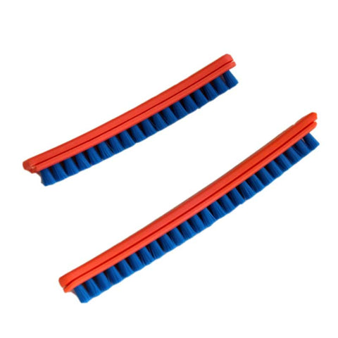 "Sanitaire 52282A4 Bristle Strip Set for 12"" VGII Brushroll, Blue"