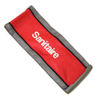 Sanitaire 5346925 DuraLite Series Outer Zipper Bag, Red