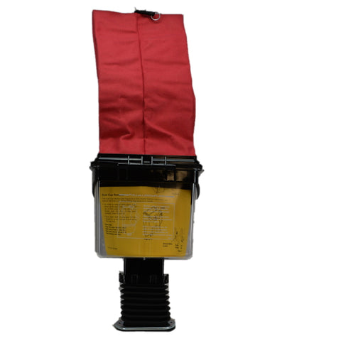 Sanitaire 601222 Dirt Cup & Bag Assembly, Red