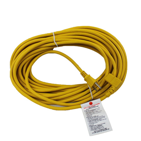 Sanitaire X9714 50' Quick-Change Cord, Yellow