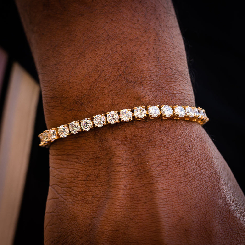 Bracelet - 5mm Gold Tennis Bracelet