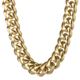 Chains - 18mm Heavy Miami Cuban Link Chain