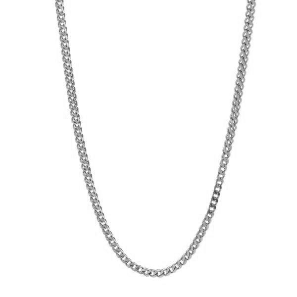 Chains - 2.5mm Stainless Steel Franco Box Chain