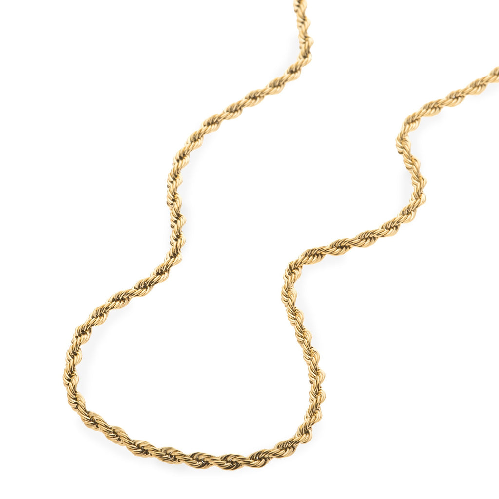 3mm Gold Rope Dookie Chain , Chains, SpicyIce - 2