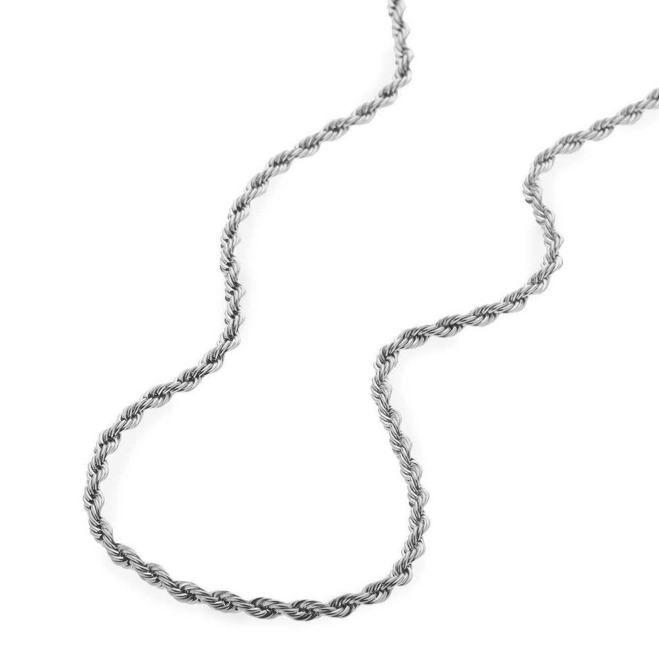 Chains - 3mm Stainless Steel Rope Chain