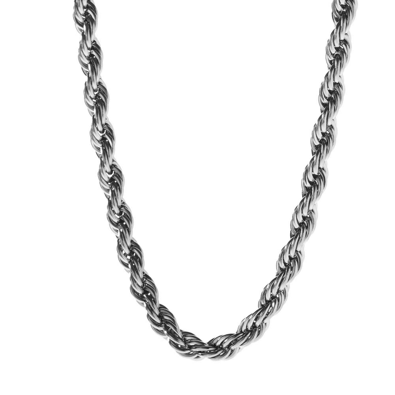 Chains - 6mm Stainless Steel Rope Chain