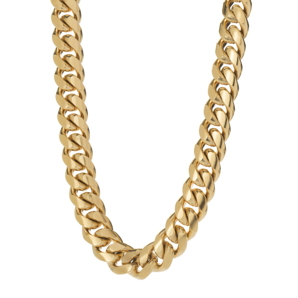 Heavy 12mm Miami Cuban Link Chain , Chains, SpicyIce - 2