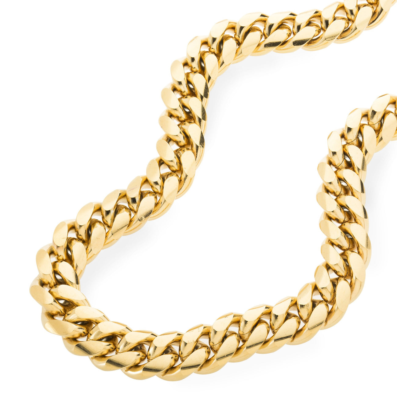 Heavy 12mm Miami Cuban Link Chain , Chains, SpicyIce - 3