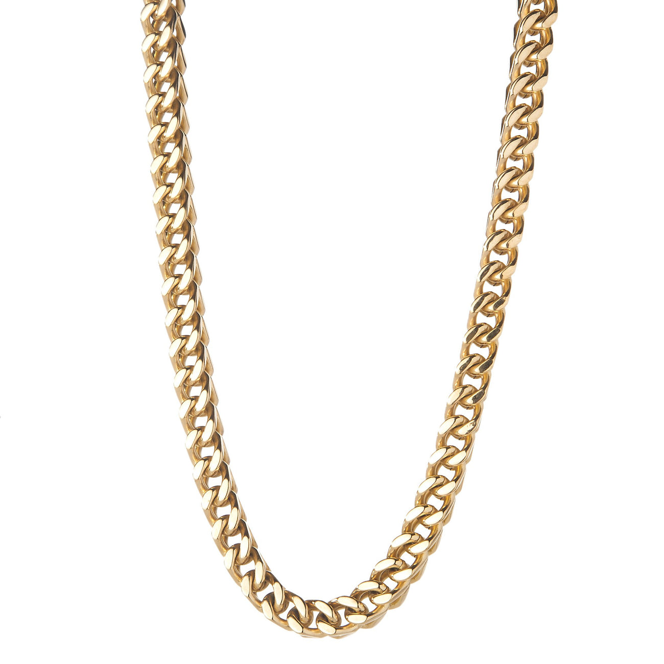 Mens 6mm Gold Franco Box Chain , Chains, SpicyIce - 1