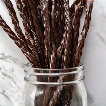Chocolate Licorice Twists