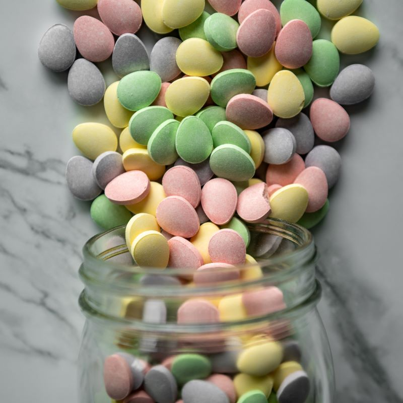 Sweet Tart Eggs