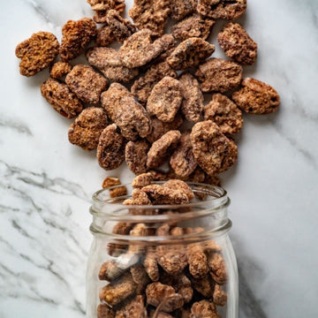 Cinnamon Frosted Pecans