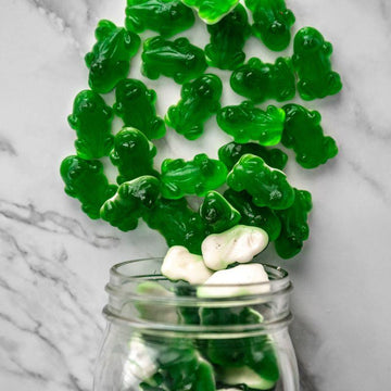 Gummy Green Frogs