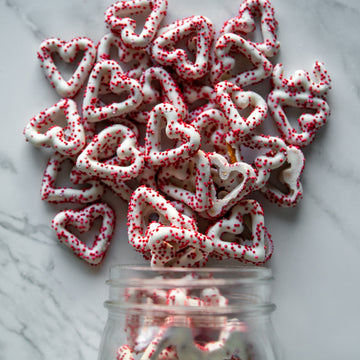 heart shaped pretzels