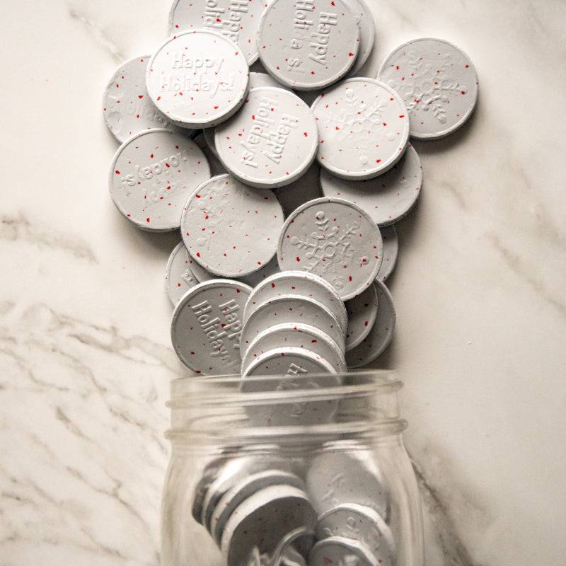 peppermint coins