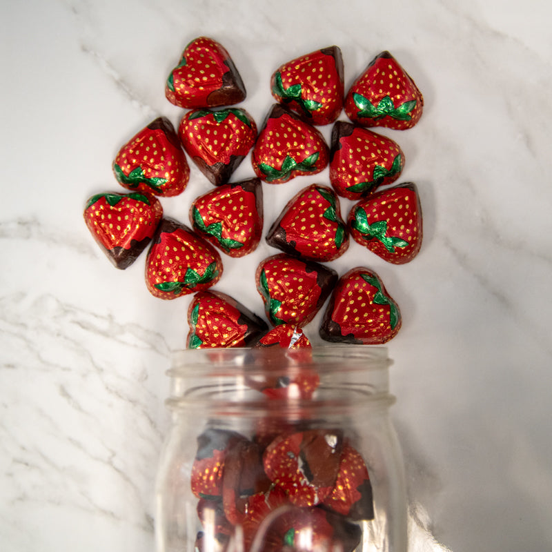 Strawberry Crème Hearts