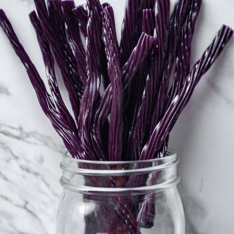 Grape Licorice Twists