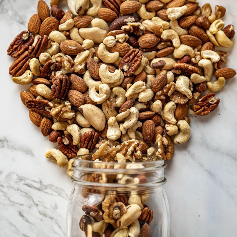 natural mixed nuts
