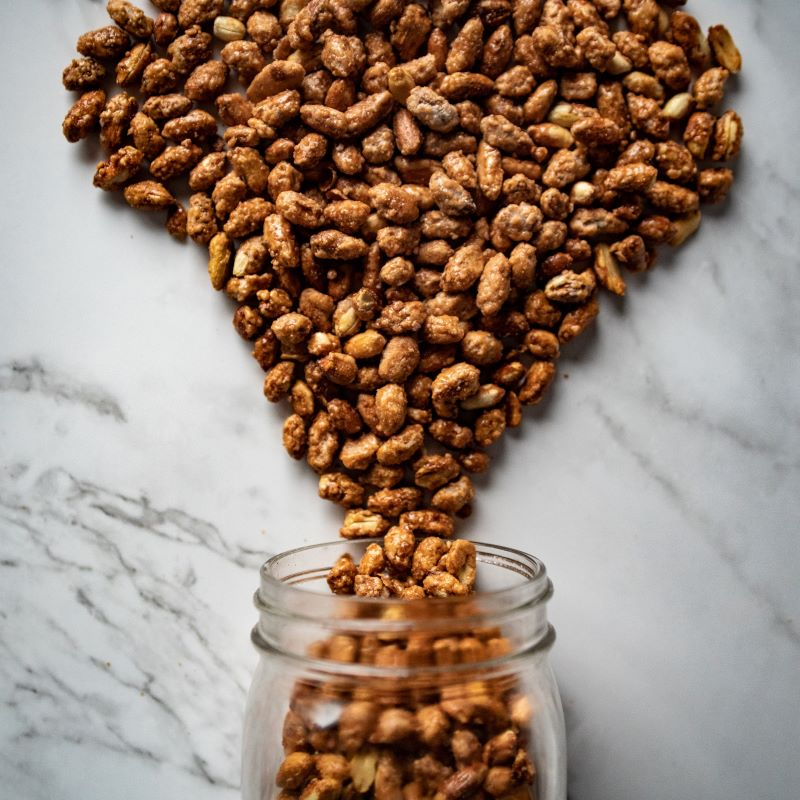 Toffee Toasted Peanuts 1/2 Pound