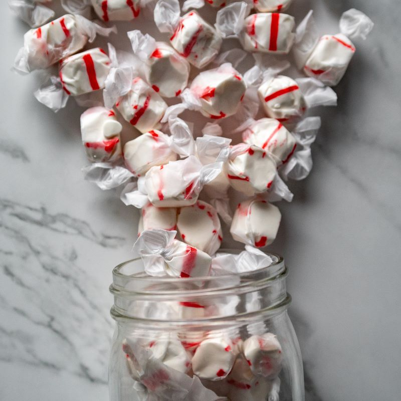 Peppermint Taffy