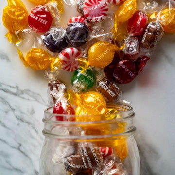 wrapped candy collection